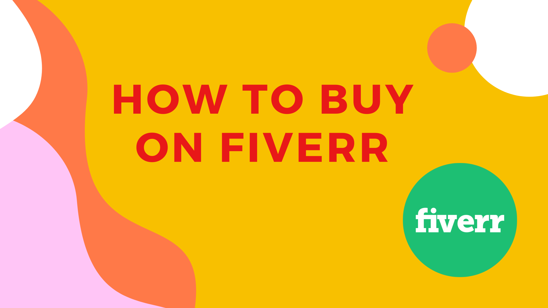 how to purchase on fiverr
